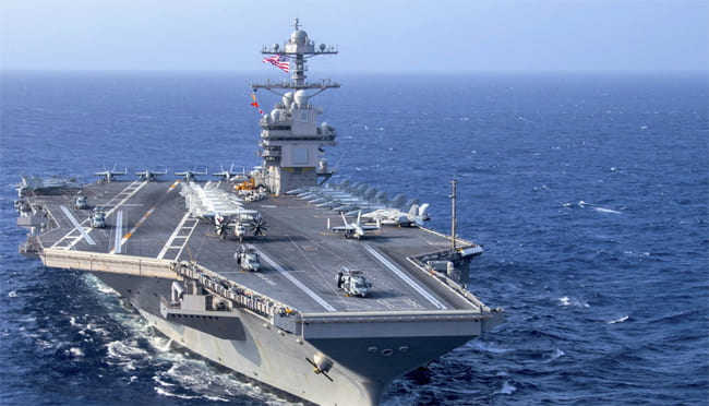 Konflik Laut China Selatan, Kuat Mana China atau Amerika