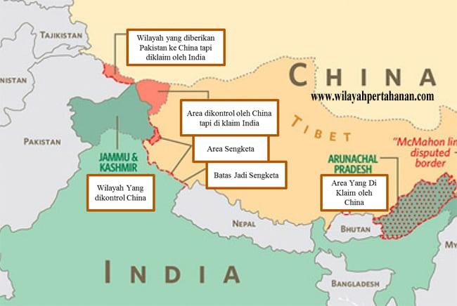 Tugu Batas Digeser India China Bentrok Perbatasan Lagi